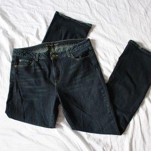 Michael Kors Medium Wash Bootcut Jeans Size 12